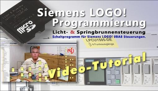 Siemens LOGO! Programmierung - Anwendungsbeispiel - Video-Tutorial