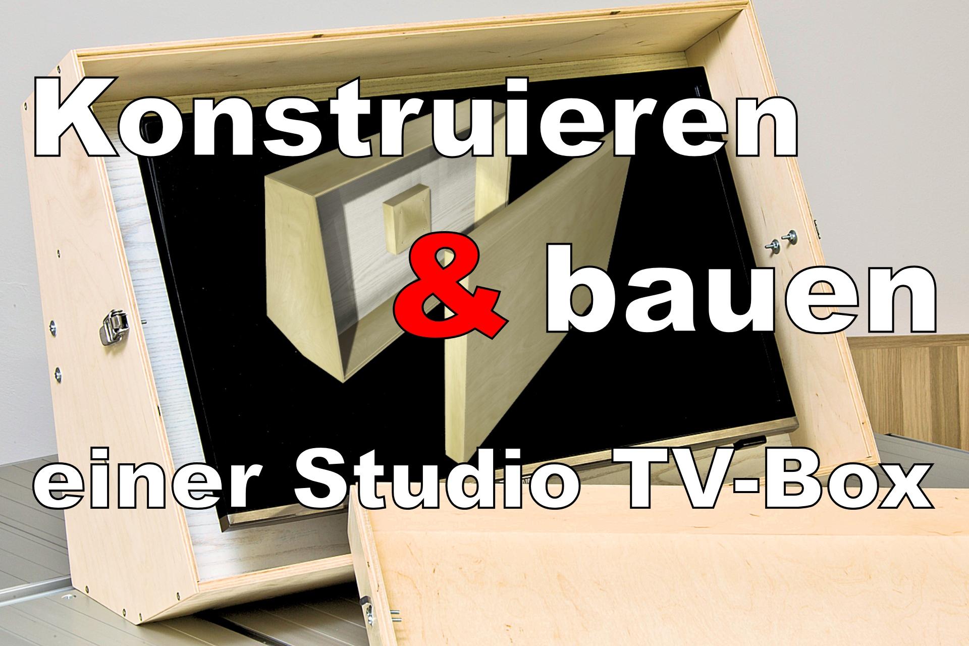 TV - Box für Studio und Bühne