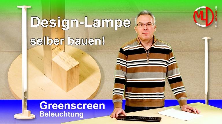 LED Design Stehlampe für indirektes Licht selber bauen