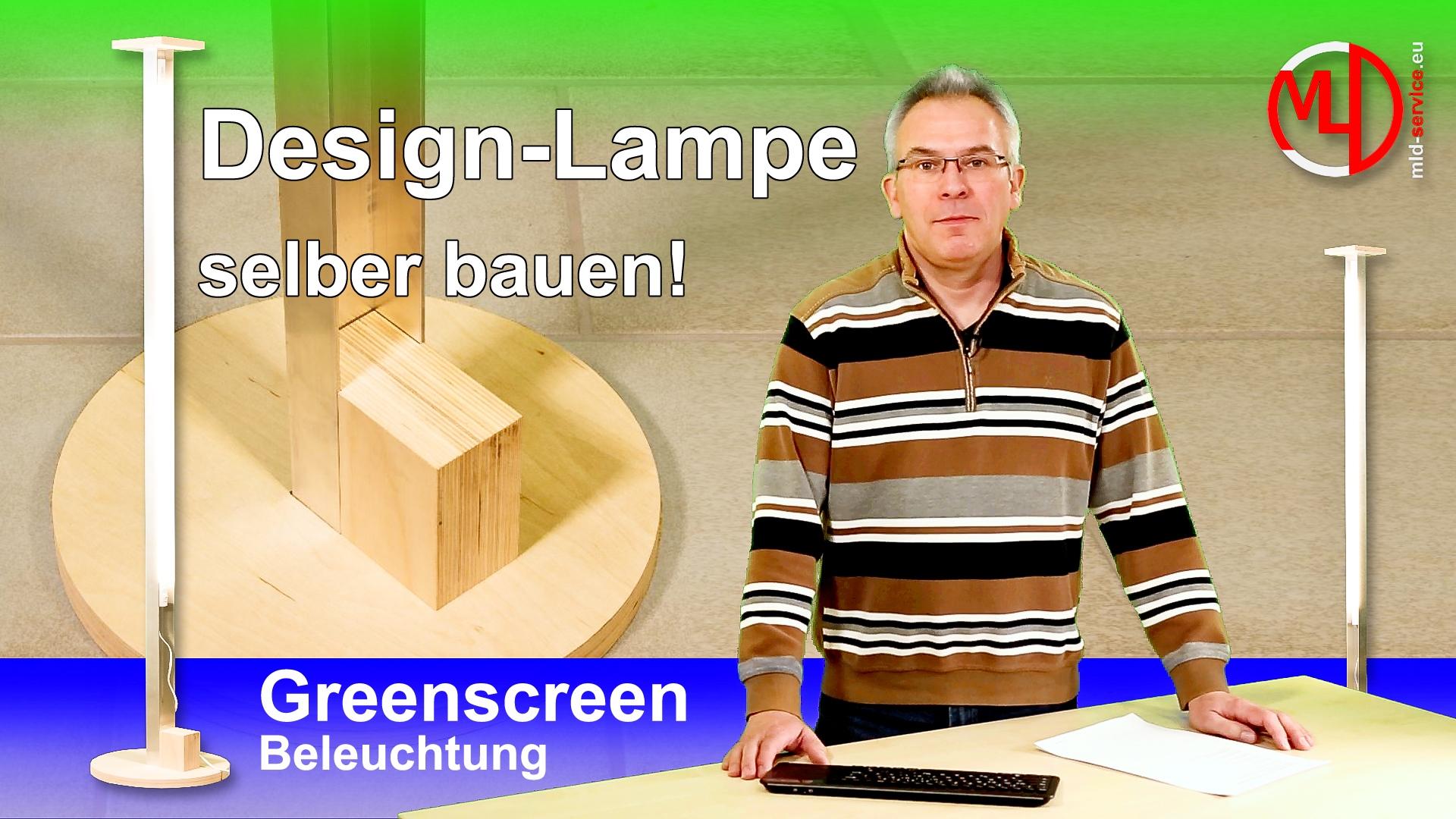 LED Design Stehlampe für indirektes Licht selber bauen ...