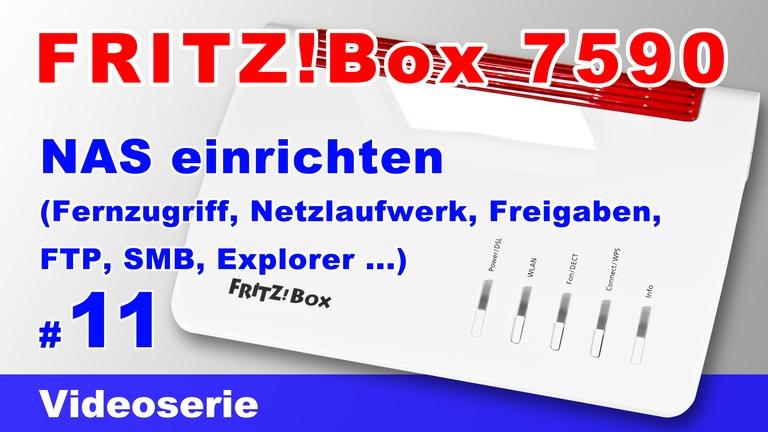 NAS-Server der FRITZ!Box 7590 einrichten