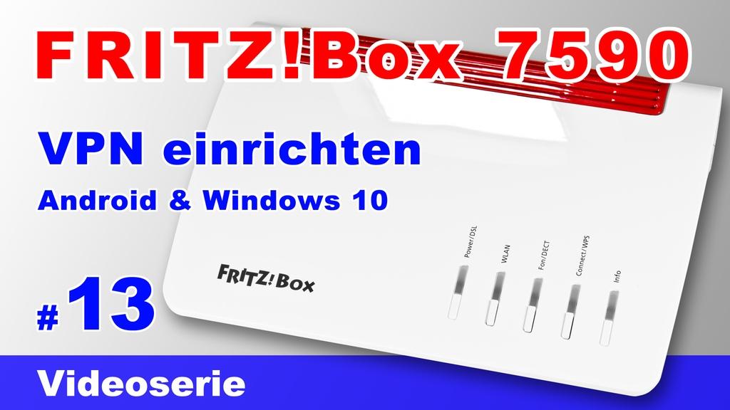 VPN auf der FRITZ!Box einrichten