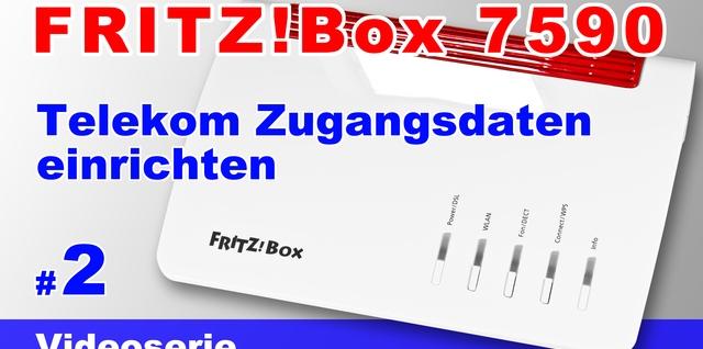 FRITZ!Box 7590 einrichten - Teil 2