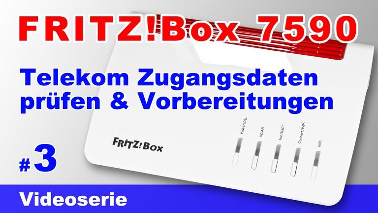 FRITZ!Box 7590 einrichten - Teil 3