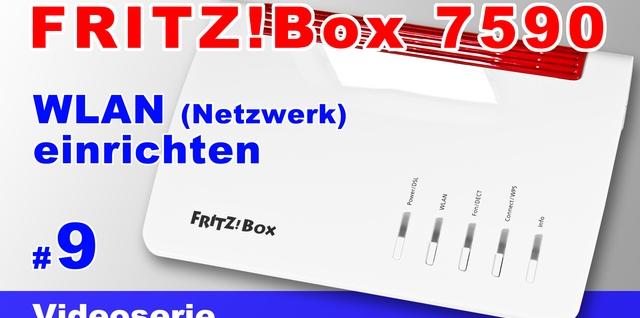 FRITZBox 7590 WLAN einrichten