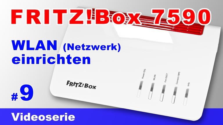 FRITZBox 7590 WLAN einrichten - Teil 9