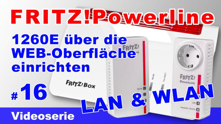 FRITZ!Powerline 1260E über die eigene WEB-Oberfläche einrichten - Teil 16