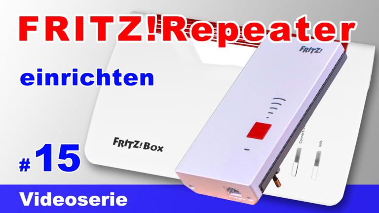 FRITZ!Repeater 2400 einrichten inkl. FRITZ!Box 7590 Mesh - Teil 15