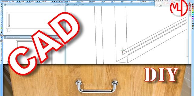Schubladenschrank mit vier Schubladen selber bauen