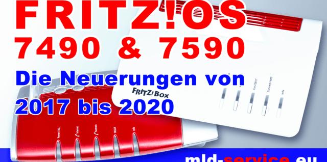 FRITZ!OS 7490 & 7590 von 2017 bis 2020
