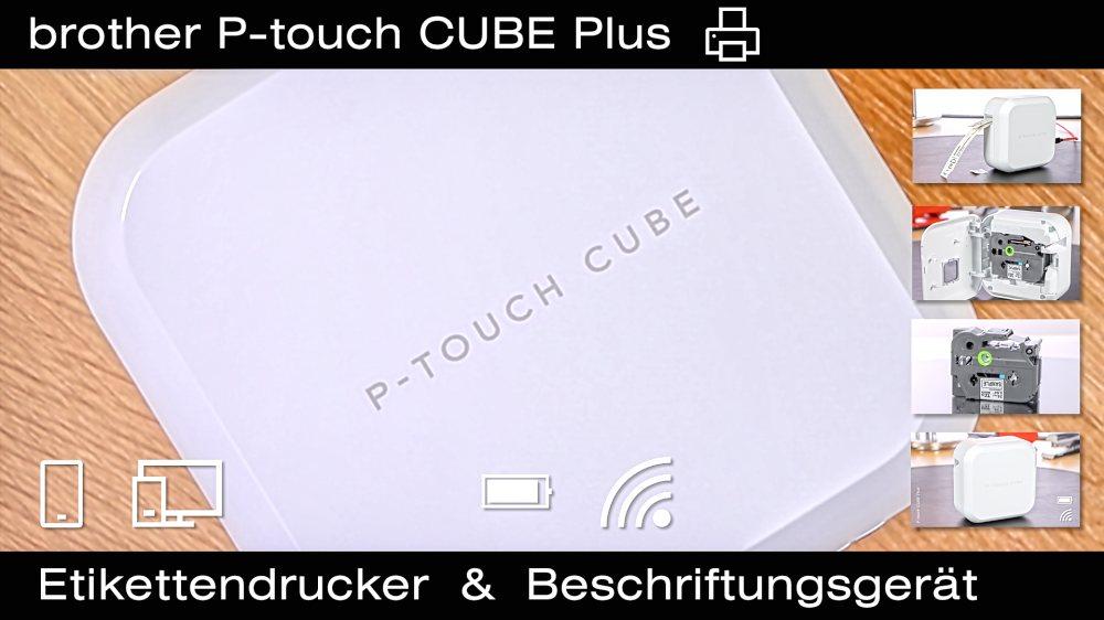 P-touch CUBE Plus Etikettendrucker von brother – PT-P710BT
