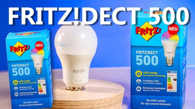 FRITZ!DECT 500 von AVM einrichten & installieren