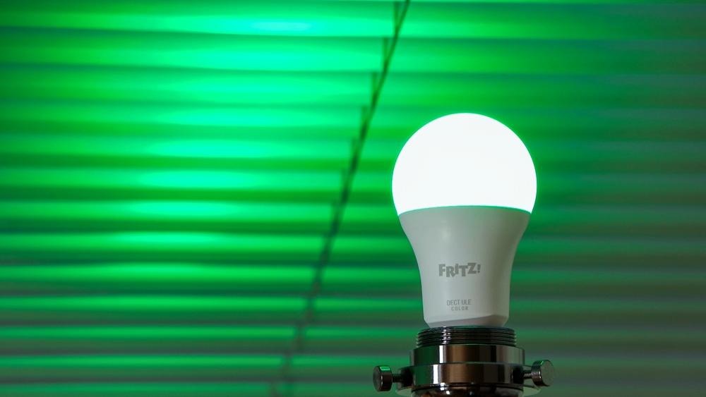 FRITZ!DECT 500 - Lichtfarbe: 100% Grün