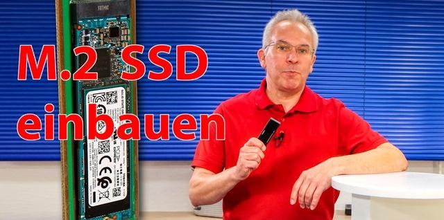 M.2 SSD in ein externes USB Gehäuse einbauen