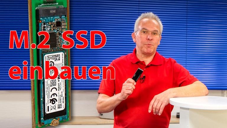 M.2 SSD in externes USB Gehäuse einbauen und einrichten