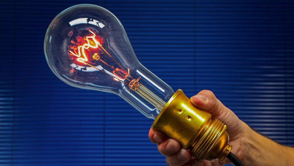 500 Watt Retro-Glühlampe