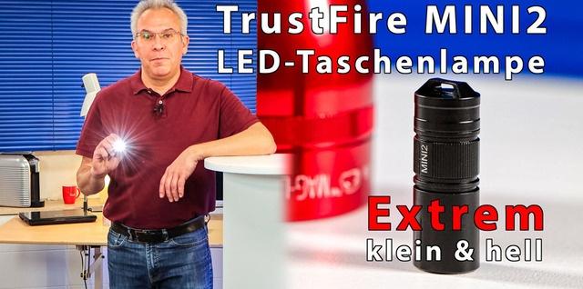 TrustFire MINI2 mini Taschenlampe