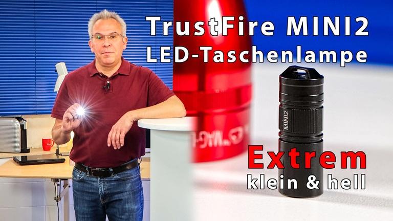 TrustFire MINI2 mini Taschenlampen - extrem hell & extrem klein