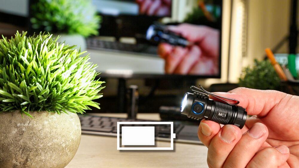 TrustFire MC1 LED Taschenlampe - Konstantelektronik