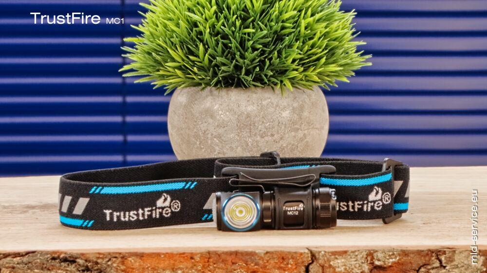 TrustFire MC12 Stirnlampe - Kopflampe MC12