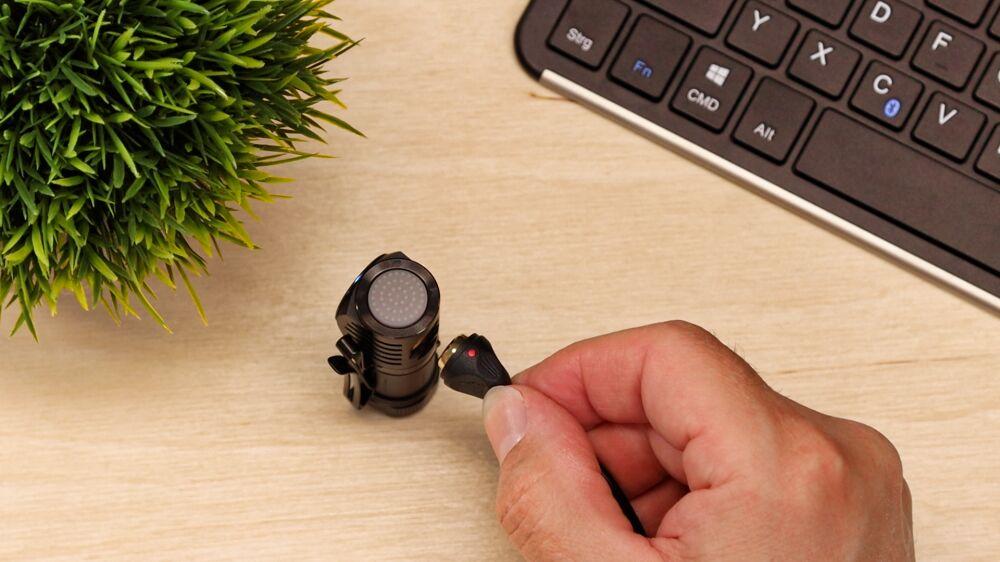 TrustFire MC12 Stirnlampe - Magnetladung