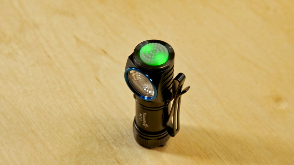TrustFire MC12 Taschenlampe - Ladezustandsanzeige