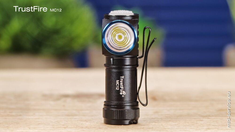TrustFire MC12 LED Taschenlampe