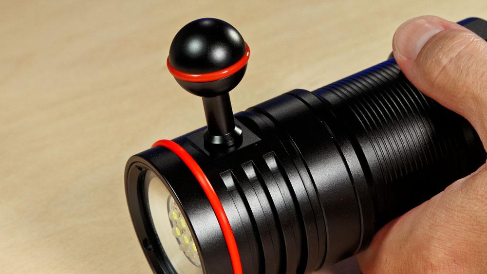TrustFire DF50 Videoleuchte mit Befestigungsmöglichkeit am Kamera-Rig