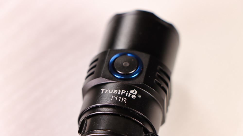 TrustFire T11R - Lampenkopf mit Taster.