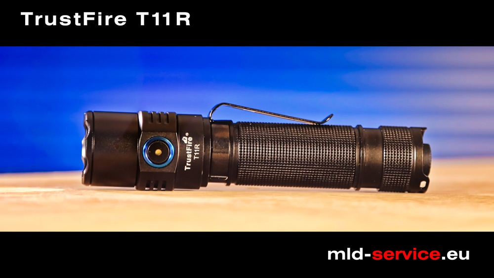 TrustFire T11R - taktische LED Taschenlampe