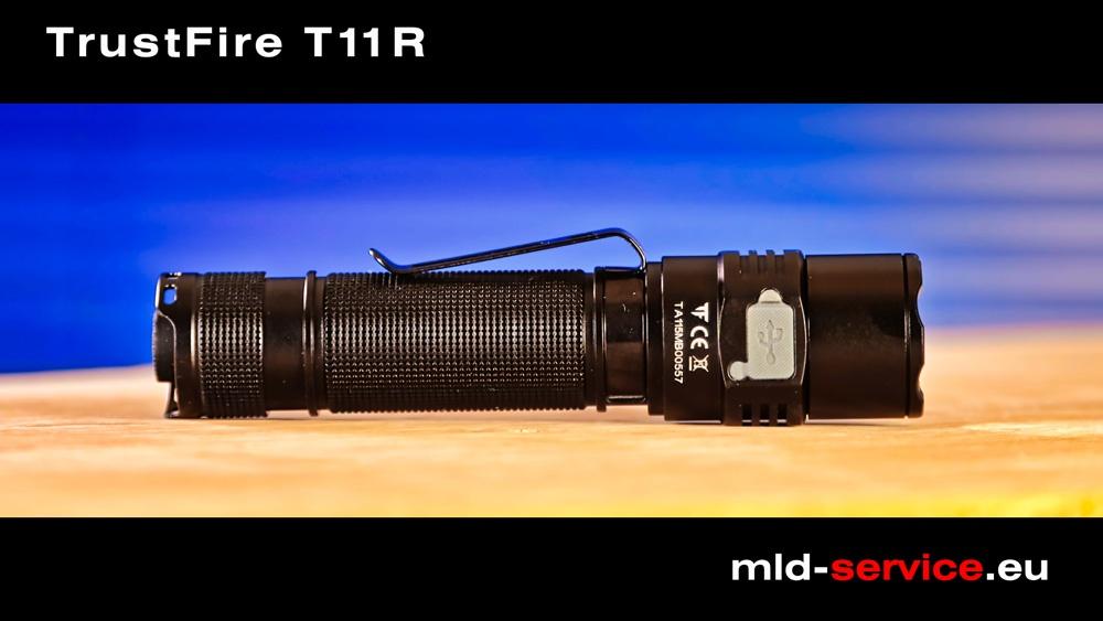 TrustFire T11R - USB-C Ladeanschluss
