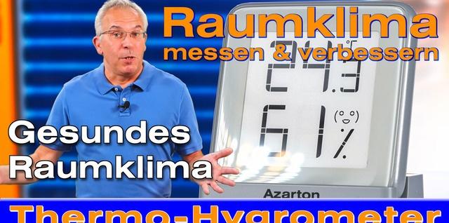Azarton Thermometer Hygrometer auf YouTube