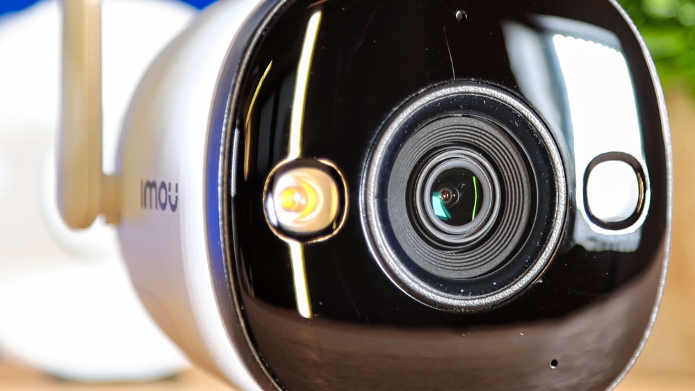 imou Bullet 2E - Objektiv mit 2 LEDs für die Nachtsicht in Farbe